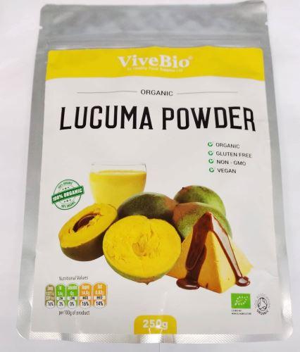 VIVEBIO Organic Lucuma Powder BIO 500g