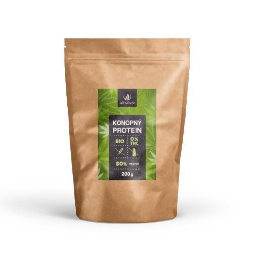 Allnature Konopný protein 50% BIO 200g