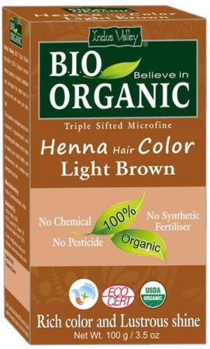 Henna barva na vlasy Light Brown