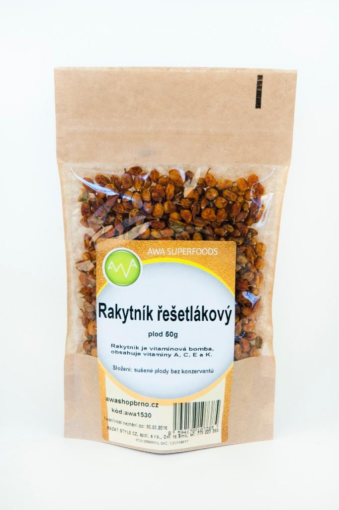 AWA superfoods Rakytník řešetlákový plod 50 g