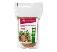 Ředkvička BIO - semena na klíčení 200g