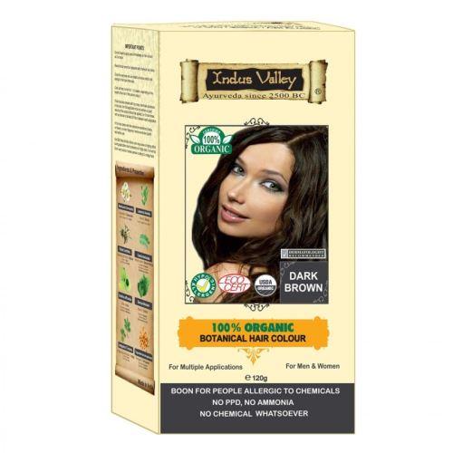 BIO organic Henna Organická barva na vlasy Dark Brown