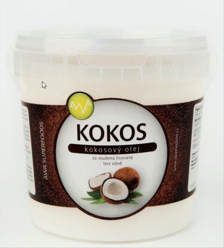 AWA superfoods Kokosový olej 1000ml + Dárek