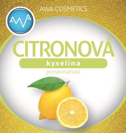 AWA superfoods kyselina citronová 500g