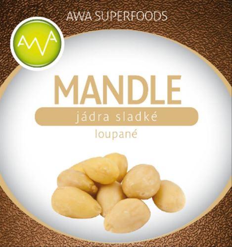 AWA superfoods Mandle loupané 1000g