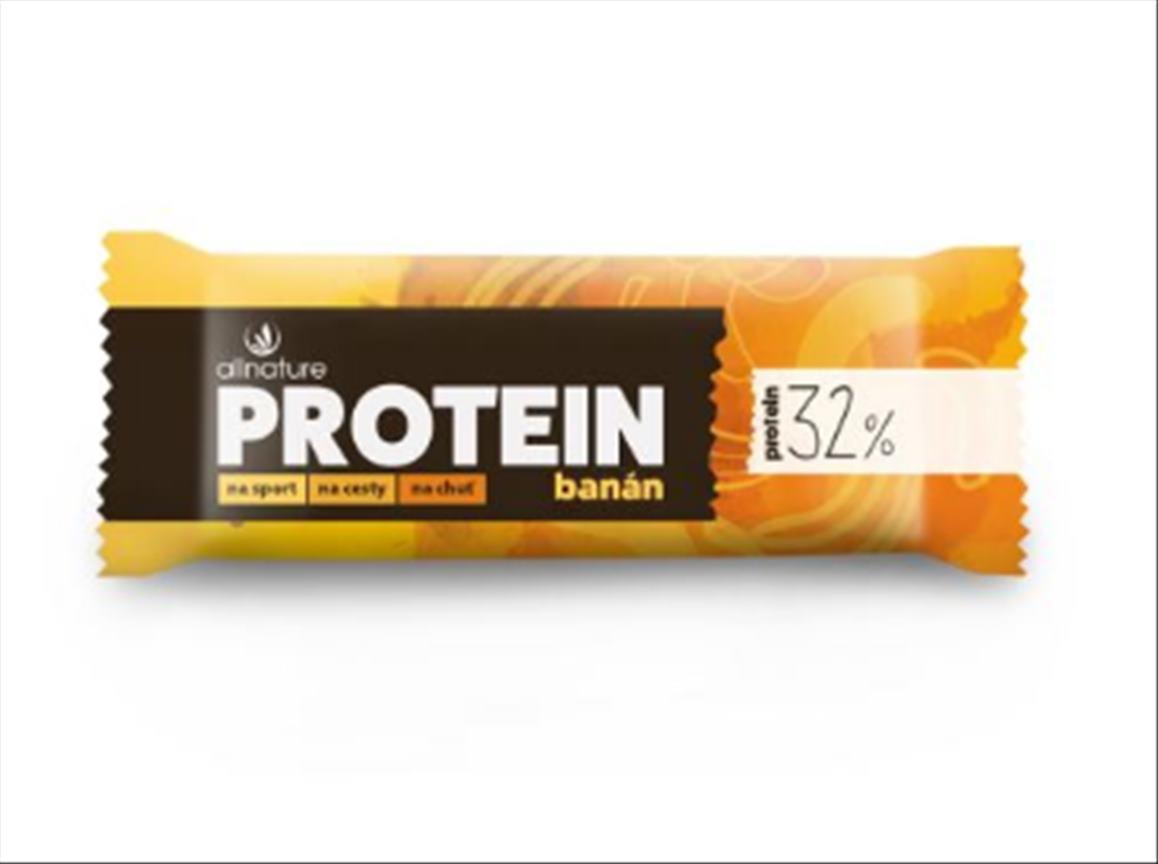 Allnature Protein Bar tyčinka 32% 35g