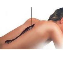Čokoládová masáž + peeling + celkový zábal