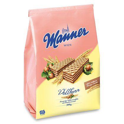 Manner celozrnné oplatky s lískooříškovou čokoládou 300g