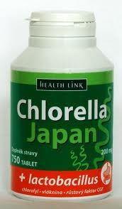 Chlorella Japan + lactobacillus 750 tbl.