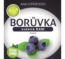 AWA superfoods sušená borůvka mletá RAW 100g
