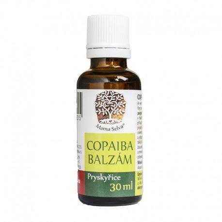 COPAIBA balzám 100% surová přírodní pryskyřice 30 ml