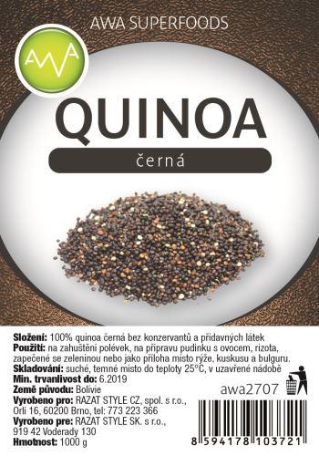 Quinoa a její druhy