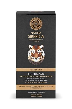Natura Siberica Revitalizační čistící pleťový peeling Tygří tlapa 150ml