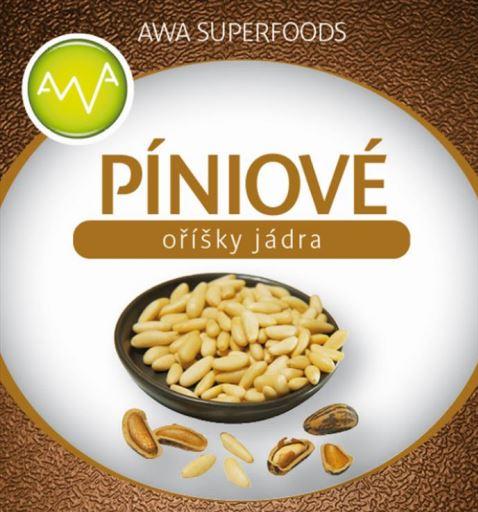 AWA Superfoods Piniové oříšky jádra 1000g