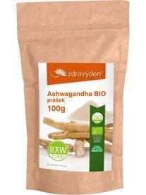 Ashwagandha BIO RAW prášek 100g