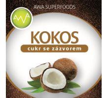 AWA superfoods kokosový cukr se zázvorem 250g