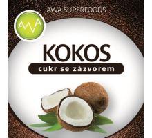 AWA superfoods kokosový cukr se zázvorem 100g