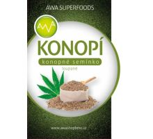 AWA superfoods semínko konopné loupané 500g