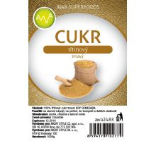 AWA superfoods třtinový cukr tmavý DEMERARA 1000g