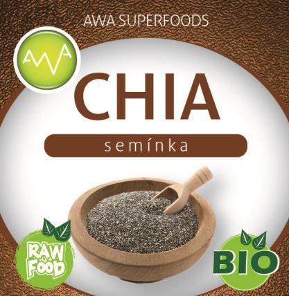 AWA superfoods Chia semínka BIO 500 g