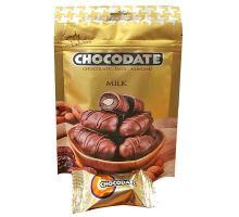 Chocodate mandle v mléčné čokoládě MILK 100g