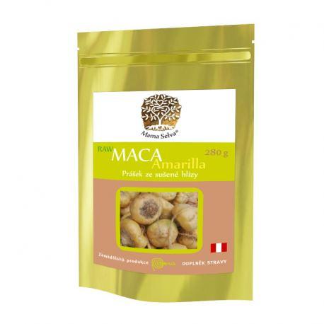 MACA Amarilla žlutá maka z Peru RAW BIO 280g