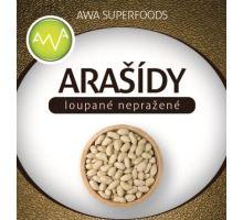 AWA superfoods arašídy loupané nepražené 1000g