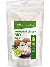 Zdravý den Kokosové chipsy Bio Raw 300 g