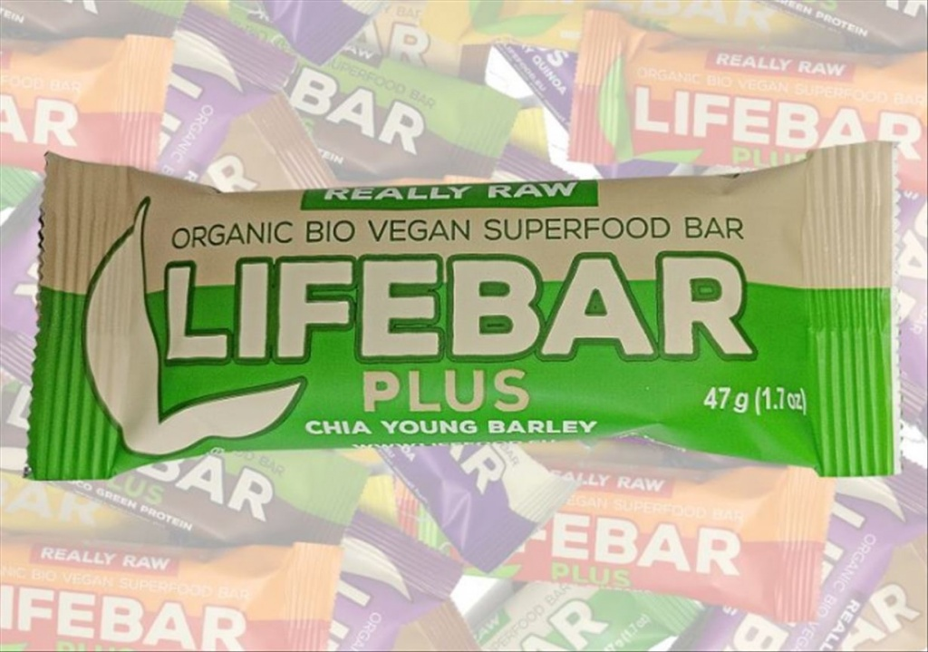 Lifefood Chia Young Barley BIO, Lifebar 47g