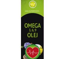AWA superfoods olej omega 3, 6, 9 500 ml