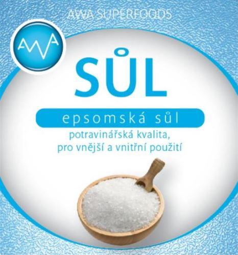 Epsomská sůl potravinářská 1000g
