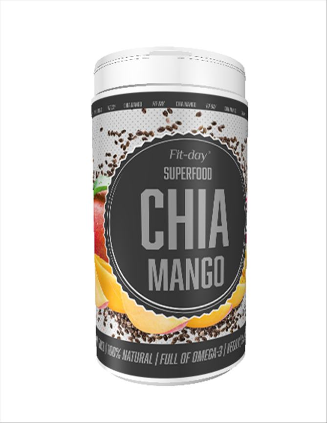Fit DAY Superfoods Chia mango 600g