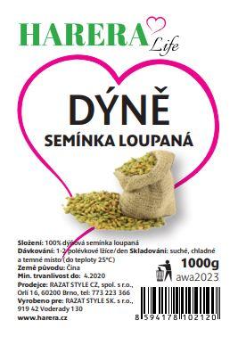 HARERA dýňové semínko 1000g