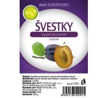AWA superfoods sušené švestky vypeckované 250g