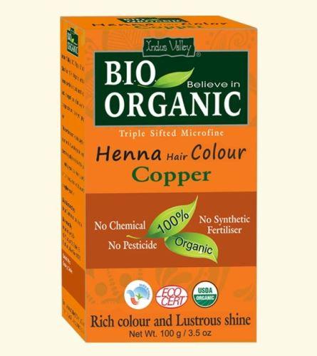 Henna barva na vlasy Copper