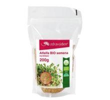 Alfalfa BIO - semena na naklíčení 200g