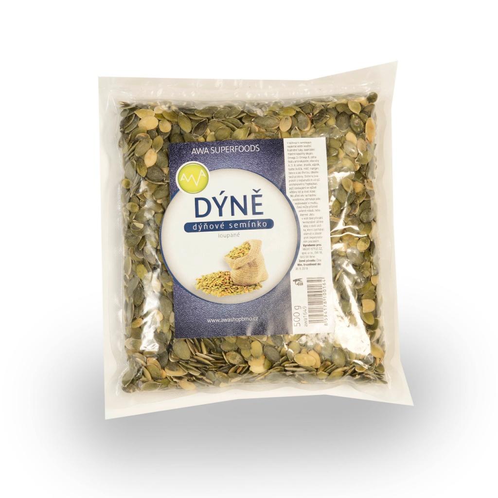 AWA superfoods Dýňové semínko loupané 500g