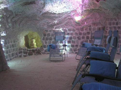 Solná jeskyně vstup ro 2 osoby