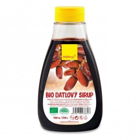 Datlový sirup Wolfberry BIO 400 ml/ 540g