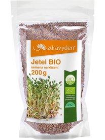Zdravý den Jetel semena na klíčení BIO 200 g