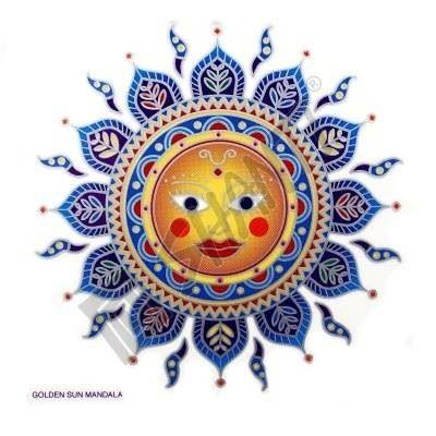 Mandala Sunseal V Golden Sun