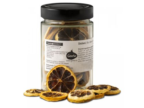 Černý citron BIO 40g