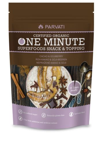 One minute snack kakao-goji  BIO RAW 300g