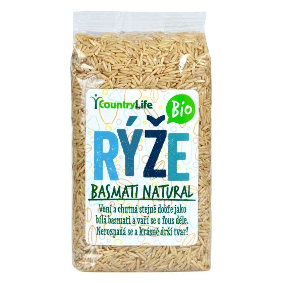 COUNTRY LIFE Rýže basmati natural BIO 500g