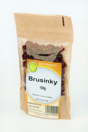 AWA superfoods Brusinky proslazené 100g
