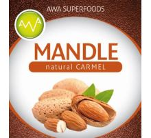 AWA superfoods mandle natural Carmel 1000g