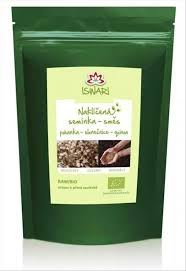 Iswari BIO Směs naklíčených semínek pohanka, slunečnice, alfalfa 250g