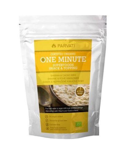 ONE minute snack banán - nepražené kakaové boby 300g
