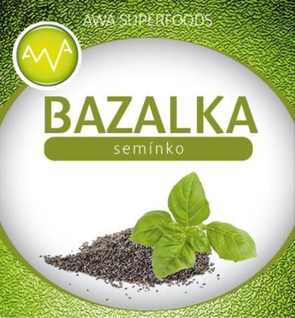AWA superfoods bazalkové semínko 1000g